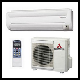 Central Air Conditioning Installation Alternative: Mitsubishi Ductless  Split System