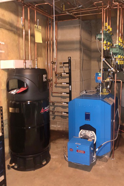 Oil Fired Boiler Upgrade In Clinton CT