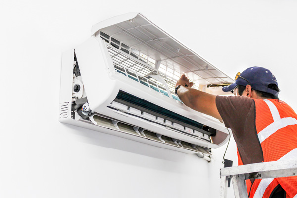 image of a ductless installation
