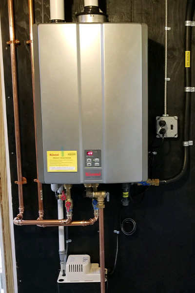 Rinnai Hot water Heater propane